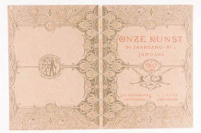 'Onze Kunst', januari 1907