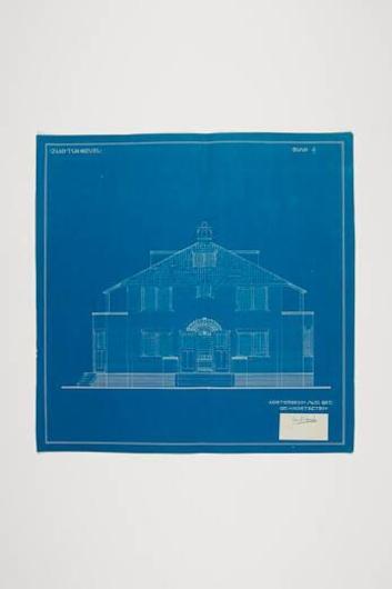 Twaalf blauwdrukken voor Villa De Graaf te Oosterbeek