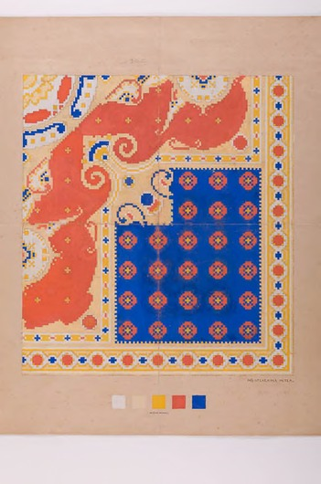 Ontwerp voor een tapijt