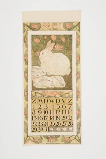 Kalenderblad mei 1910