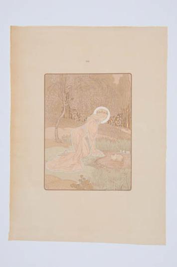 Illustratie uit 'Dat Liedekin van Here Halewine'