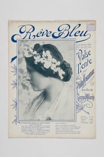 Muziekstuk 'Rêve Bleu'