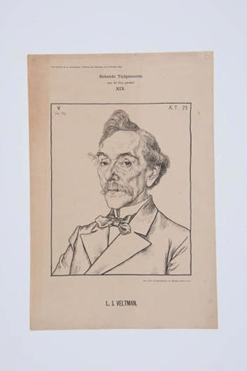 Portret L.J. Veltman