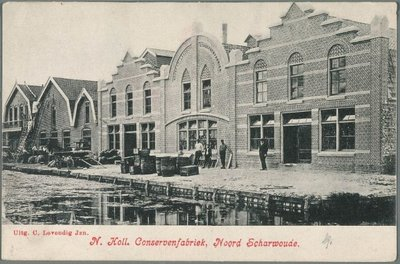 De Noord Hollandse Conservenfabriek.