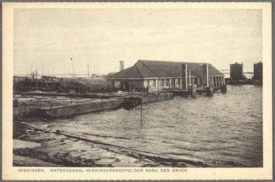 Watergemaal Wieringermeerpolder nabij Den Oever.