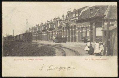Bocht Nieuwendammerdijk.