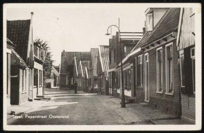 Peperstraat in Oosterend.