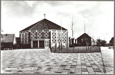 Gezicht op de Maranatha Kerk