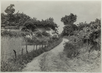 Holle weg ten zuiden van Halsteren, zijpad aan de Kannewielseweg