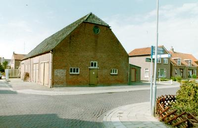 Schuur op de hoek van de Dorpsweg en de Patrijzenweg