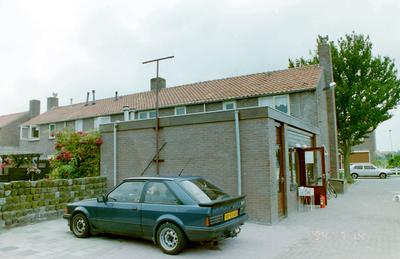 Benzinestation op de hoek van de Patrijzenweg en de Bou Kooijmanstraat.
