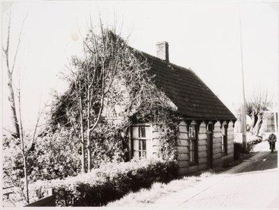 Zaanstreek. Zaans houten huisje.
