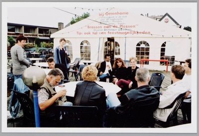 FA: Dienstuitje van de Dienst Middelen & Dienstverlening 2000