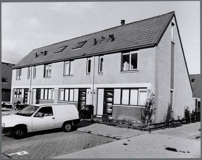 Zaandam. Nieuwbouw in de wijk Westerwatering.