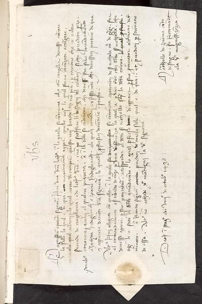 [Dopis stonského knížete vládě 9. října 1438]