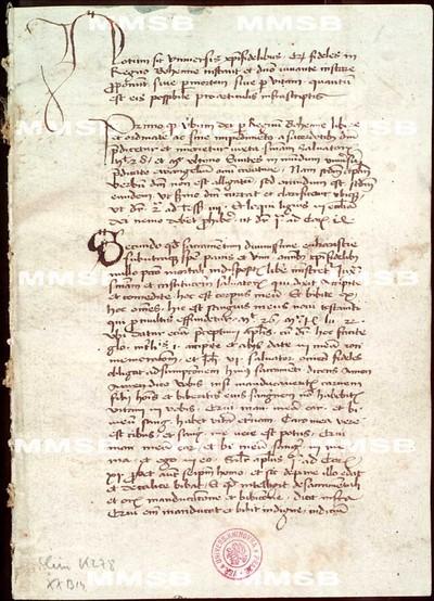 Manuscripti articuli Hussitici