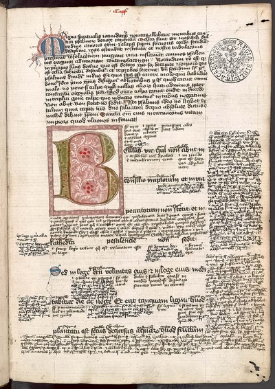 Psalterium cum expositione et glossis bohemicis interlinearibus