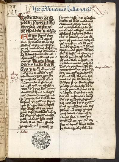 Excerpta varia et textus Pseudo-Senecae
