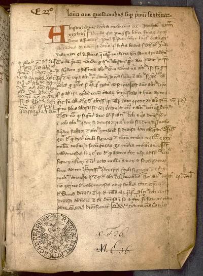 Henricus Totting de Oyta: Lectura textualis super primum librum Sententiarum Petri Lombardi