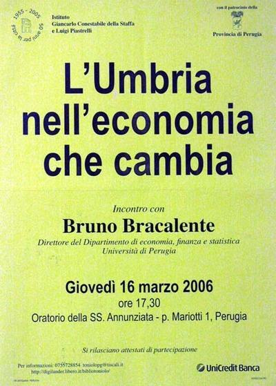 L'Umbria nell'economia che cambia