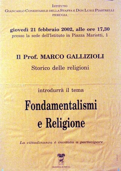 Fondamentalismi e religione