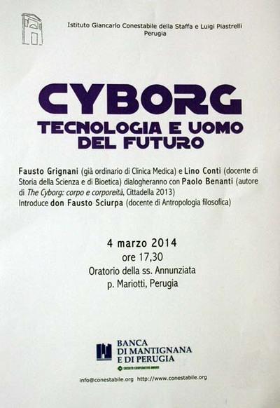 Cìborg. Tecnologia e uomo del futuro