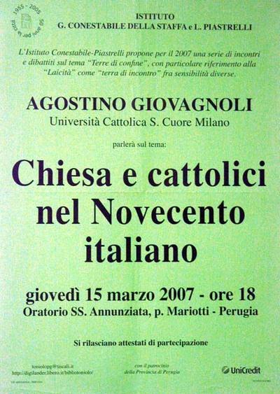 Chiesa e cattolici nel Novecento italiano