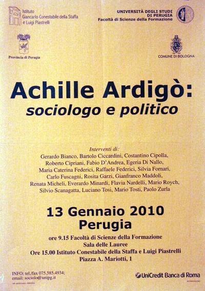 Achille Ardigà: sociologo e politico