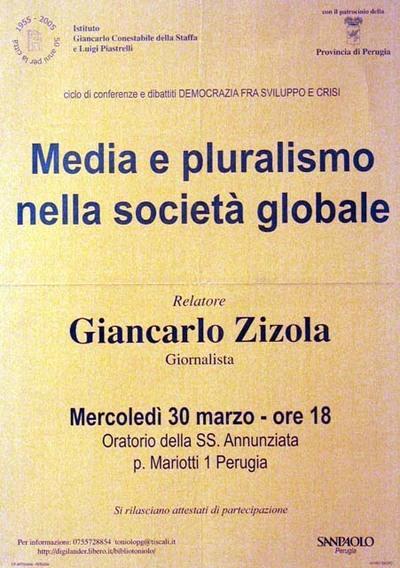 Media e pluralismo nella società globale