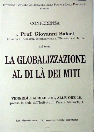 La globalizzazione al di là dei miti