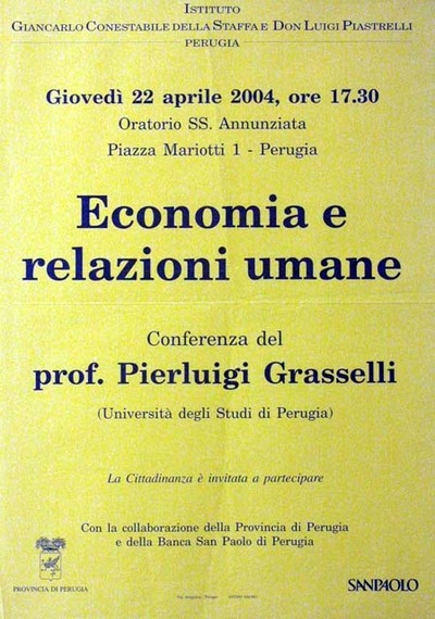 Economia e relazioni umane