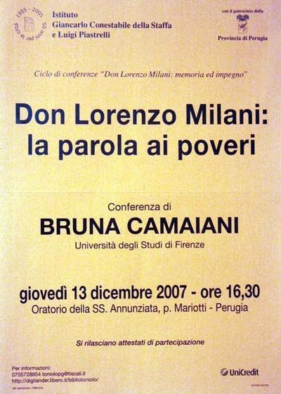 Don Lorenzo Milani: la parola ai poveri