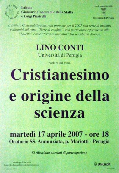 Cristianesimo e origine della scienza