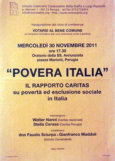 Povera Italia. Il rapporto Caritas su povertà ed esclusione sociale in Italia
