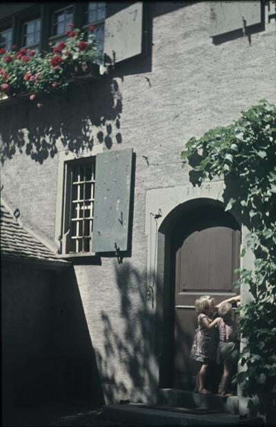 Fotografie | Muttenz, Haustüre im Pfarrhaus