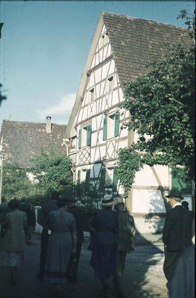 Fotografie   Allschwil, Riegelhaus