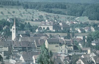 Fotografie | Liestal vom Schleifenberg aus