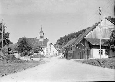 Fotografie | Liedertswil, Dorfpartie