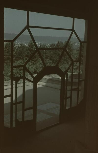 Fotografie | Dornach, Goetheanum, Terrassentüre