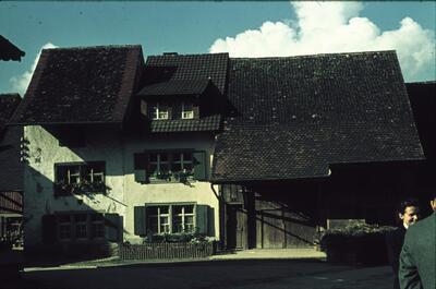 Fotografie   Titterten, Bauernhaus