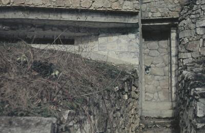 Fotografie | Ruine Farnsburg, Eingang Bunker
