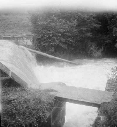 Liestal, Hochwasser Frenke