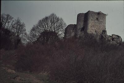 Flüh, Blick auf Ruine Landskron