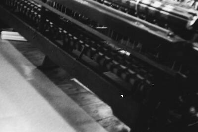 Filmproduktion, Posamentstuhl