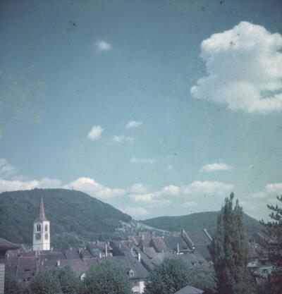 Liestal, Altstadt mit Schleifenberg