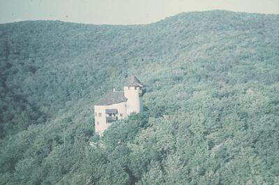 Arlesheim, Reichenstein, Flugbild
