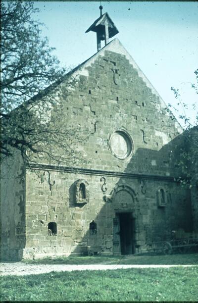 Langenbruck, Kloster Schöntal, Kirchenfassade