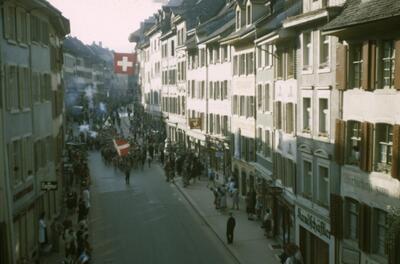 Liestal, Banntagmorgen, Rathausstrasse