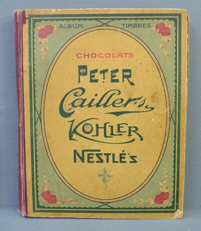 """Sammelalbum """"Chocolats Peter, Cailler's, Kohler, Nestlé's"""""""