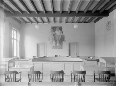 Arlesheim; Polizeiposten, Gerichtssaal